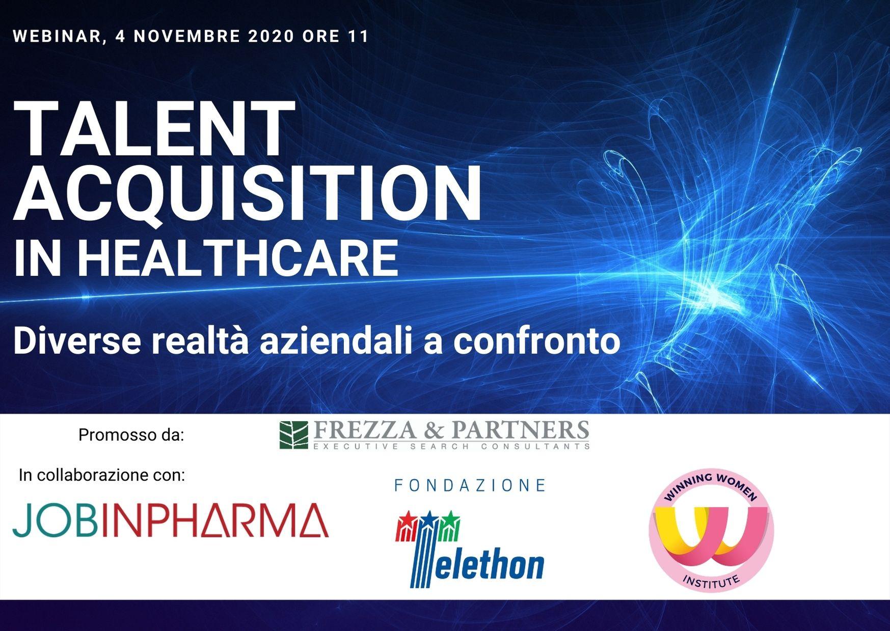 talent acquisition in healthcare jobinpharma