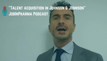 jobinpharma podcast giancarlo garonna johnson and johnson